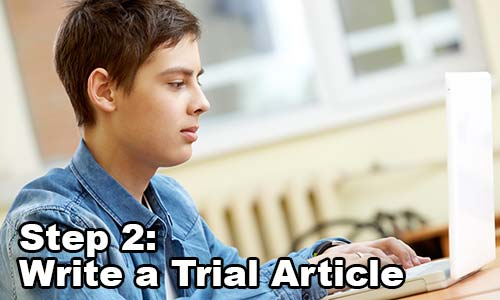 Step 2: Write Trial Article